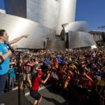 Review: The L.A. Phil and CicLAvia brought the city together for a game-changing street party -Mark Swed