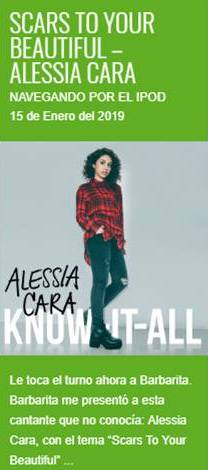 """Scars To Your Beautiful"", de Alessia Cara – Navegando por el iPod"