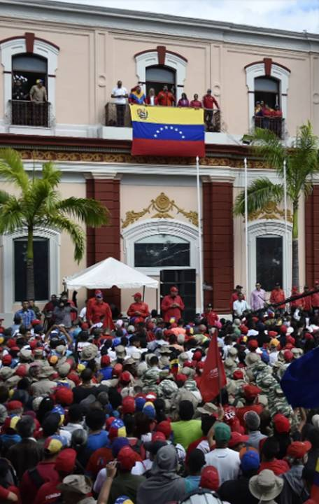 The Nightmare in Venezuela Finally Has the World's Attention. Can the Opposition's Gamble Pay Off? - Ciara Nugent