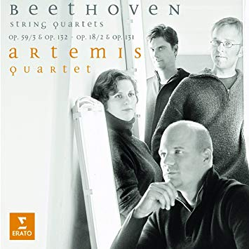 String Quartet No. 2 in G major Op. 18 No. 2- III. Scherzo (Allegro) & Trío – Artemis Quartet