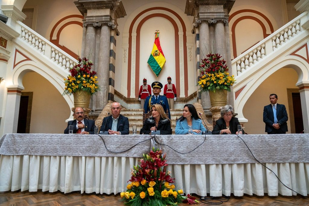 How an Unknown Female Senator Came to Replace the Bolivian Strongman Evo Morales - Anatoly Kurmanaev and Cesar Del Castillo
